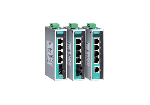 Techvalue presenta nuevo Switch Industrial MOXA  Modelo EDS-P506E