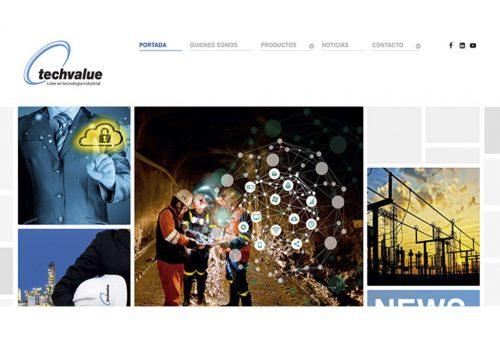 Techvalue destaca tras presentar nueva versión de su sitio web